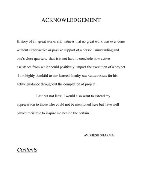 Acknowledgement Letter Sle For Research Paper Acknowledgement Term Paper Acknowledgement Digital Library And Archives Virginia Tech