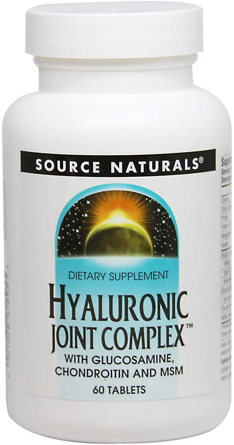 Puritan Hyaluronic Acid Collagen Glucosamine Chondroitinmsm hyaluronic joint complex with glucosamine chondroitin
