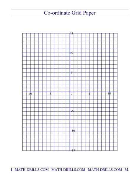 Math Worksheets Graph Paper by 17 Best Images About Mathematics Coordinates On
