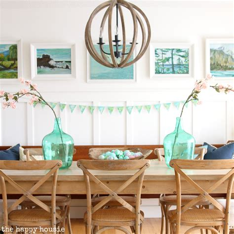 let the home tour begin the dining room dogs don t eat house tour archives the happy housie