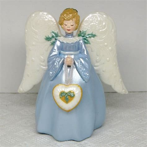 hallmark mini christmas victorian angel tree topper joyce
