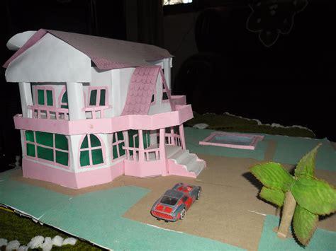 House Papercraft - papercraft handmade house model yushan iceboy foundmyself