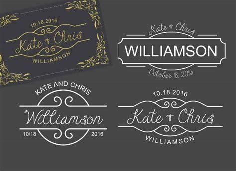 Wedding Invitation Logo by 30 Wedding Logo Design Templates Design Trends