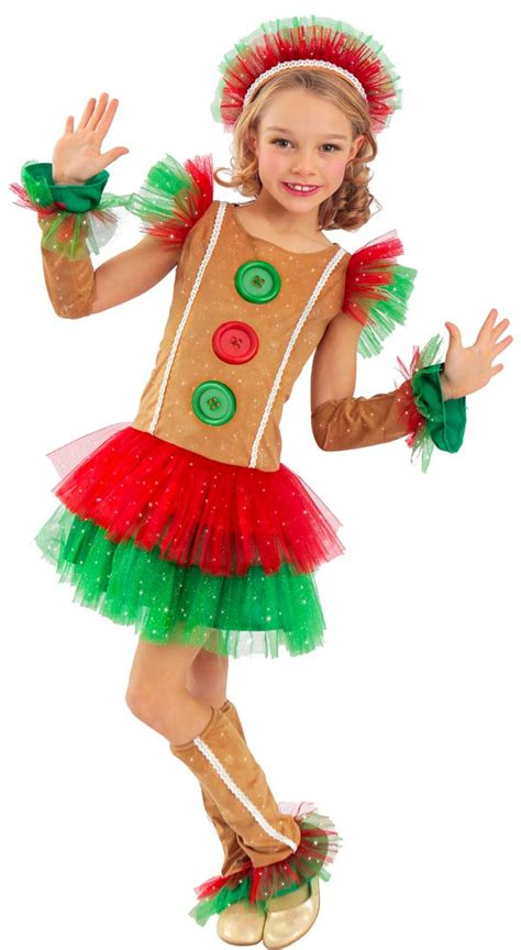 christmas costumes costume craze costumes for kids girls gingerbread costume costume craze