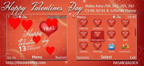 valentine themes for nokia asha 201 happy valentine s day theme for nokia series 40 devices