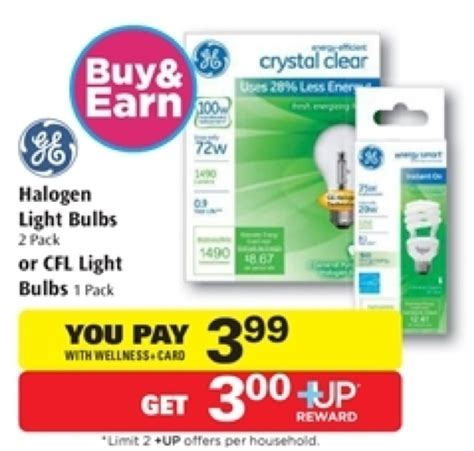 energy efficient light bulb coupons ge light bulb coupon better than free at rite aid 2 1