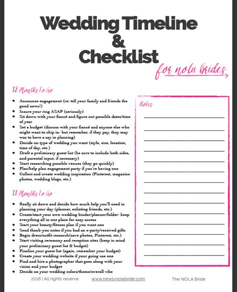 printable bridal checklist for wedding 9 helpful tips for navigating your wedding budget free