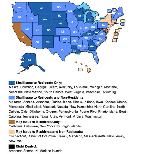 concealed carry reciprocity map getting a ccw permit what s involved