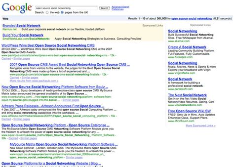debate s search pages prioritize ads and services