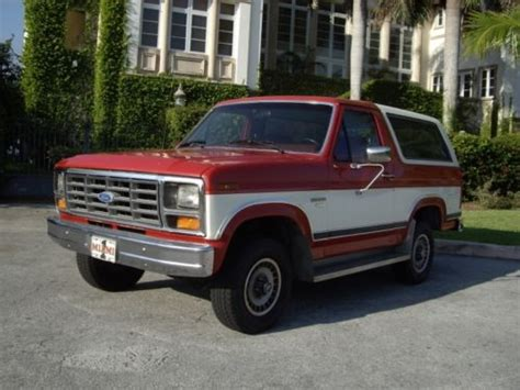 how do cars engines work 1985 ford bronco on board diagnostic system find used 1985 ford bronco xlt in miami florida united states for us 10 500 00
