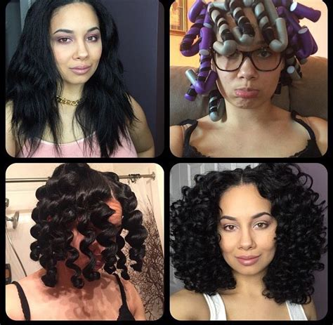 flexi rod hairstyles relaxed hair 17 best images about flexi rods on pinterest wand