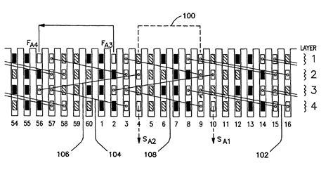 hairpins for rectangular shape patent us7034428 multi set rectangular copper hairpin