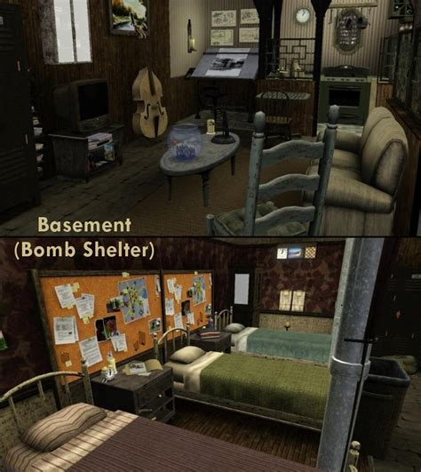 basement fallout shelter mod the sims what lies beneath no cc