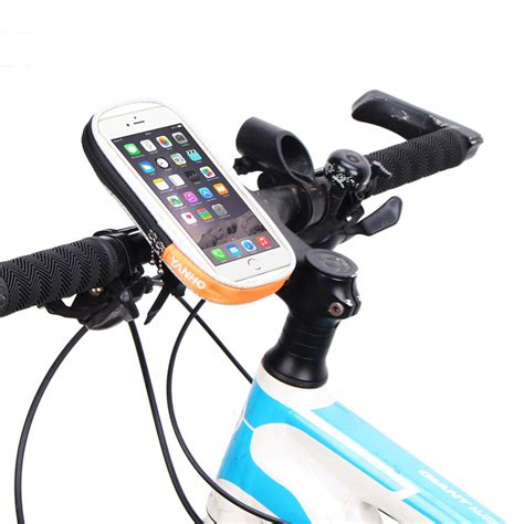 New Arrival Bicycle Bike Phone Holder With Waterproof Ck653 waterproof front cycling bike bag mobile phone holder touch screen bicycle cell phone bag 4 7 5