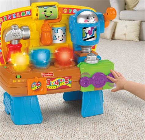 fisher price bench fisher price laugh and learn learning workbench great