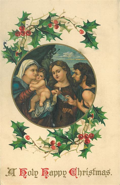 vintage christmas cards american  archives