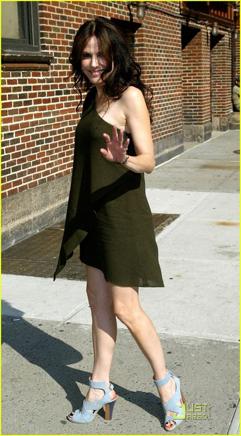 mary louise parker bathtub mary louise parker on david letterman show