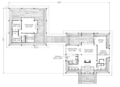 78 Best Images About Breezeway House Plans On Pinterest House Floor Plans With Breezeway