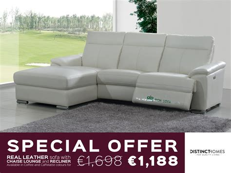 special sofa special offer on real leather sofas distinct homes