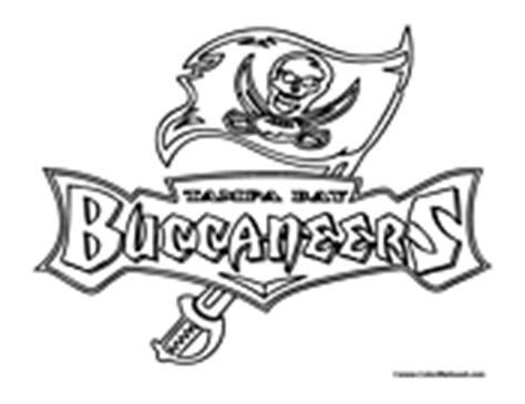 ta bay buccaneers coloring page