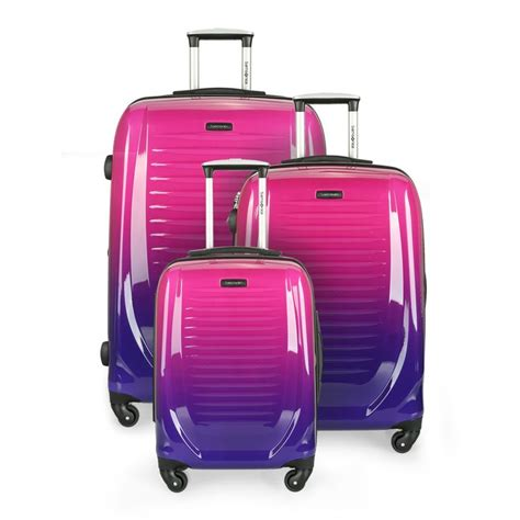 29 Smara Set 9 samsonite hardside luggage set forward