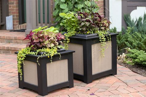Outdoor Planters by Unique Outdoor Planters For Your Garden Homesfeed