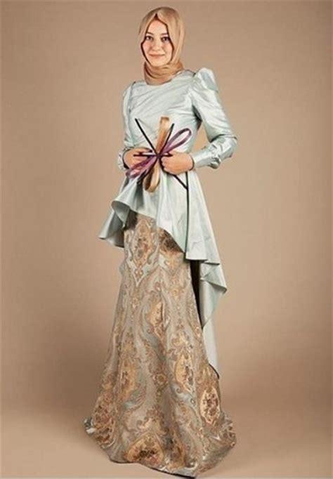 contoh baju kebaya muslim modern tahun 2013 16 model kebaya muslim terbaru dan populer di kalangan