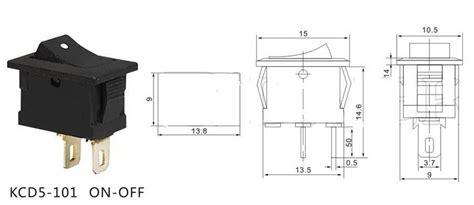 rocker switch medium 10727 sparkfun electronics