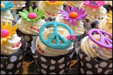 Hippie Hipster Cupcakes Cupcakesdelite