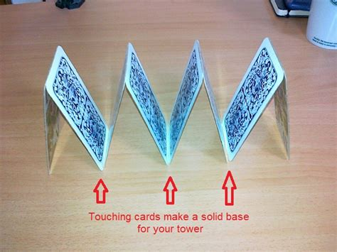 how to make card tower how to build a tower of cards