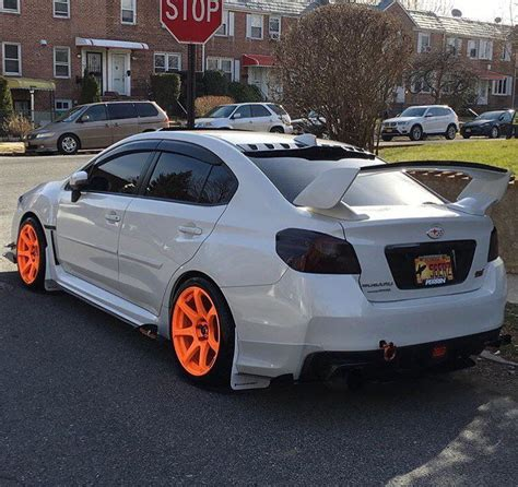 orange subaru wrx subaru wrx sti neon orange wheels be popping cars