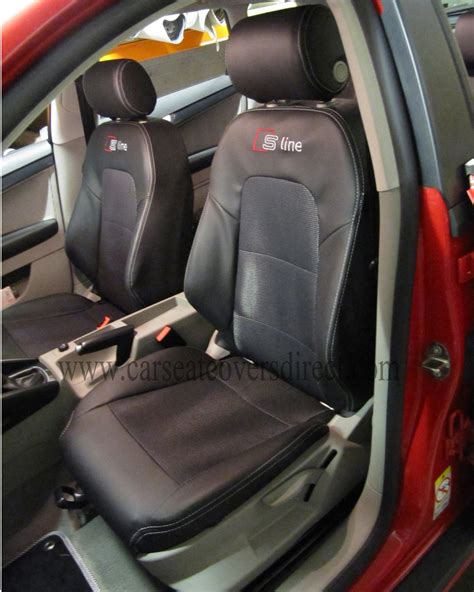 audi seat covers with logo audi a3 seat covers black s line car seat covers direct
