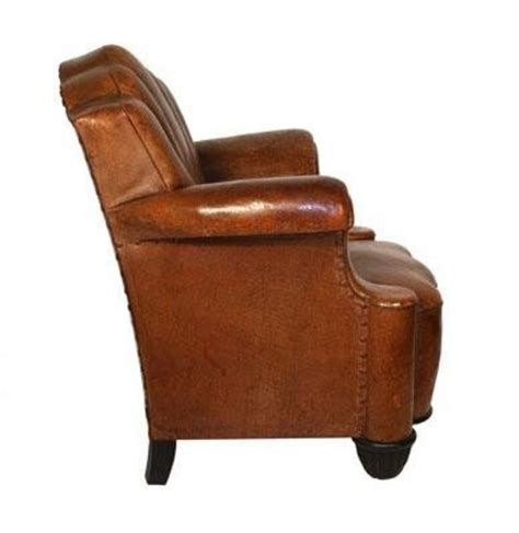 Leather Club Chairs For Sale Fabulous Art Deco Leather Club Chair H33636675 For Sale