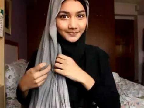 tutorial jilbab syar i youtube tutorial panduan cara memakai menggunakan jilbab kerudung