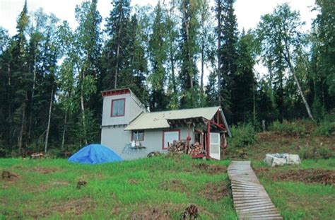 Remote Alaskan Cabins For Sale by Remote Cabin The Grid On Float Plane Lake 5 Acres