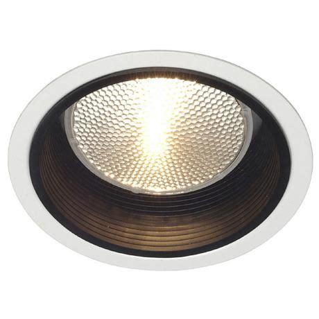 lightolier led recessed lighting lightolier 5 quot line voltage black baffle recessed light trim