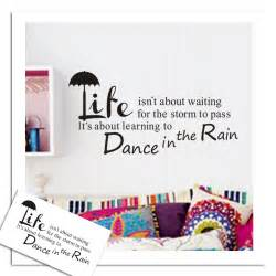 Famous Quote Wall Stickers famous quote abstract art vinyl wall stickers decal mural room decor