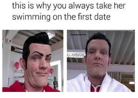 First Date Meme - 25 best memes about take her swimming on the first date