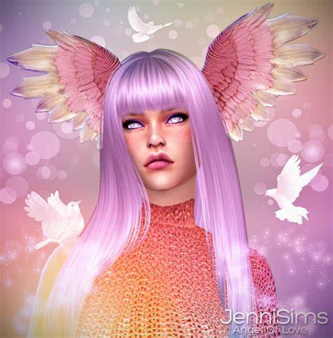 wings sims4 cc angel of love wings head at jenni sims 187 sims 4 updates