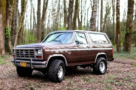 1980s ford bronco hemmings find of the day 1982 ford bronco xlt lari