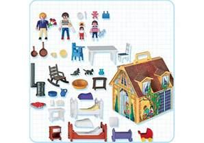 maison de famille transportable 4145 a playmobil 174