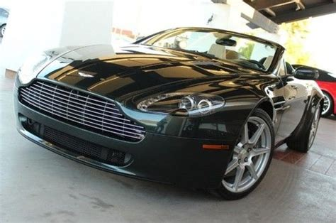 purchase used 2008 aston martin vantage in louise texas united states for us 39 000 00 purchase used 2008 aston martin vantage convertible f1 trans loaded 1 owner clean carfax in