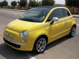 Second Fiat 500 Convertible Fiat 500 Cabriolet Used Car Costa Blanca Spain Second