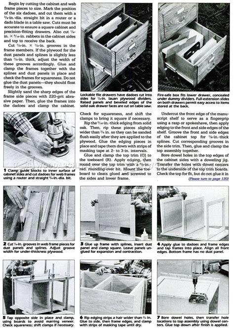 wood file cabinet plans file cabinet plans woodarchivist