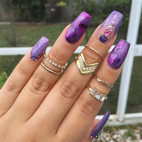 nail art ideas  coffin nails  goddess