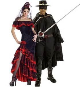 Cute Halloween Costume Ideas For Adults Zorro And Elena Couples Costume Costumes Pinterest Couple Costumes Costumes And Couple