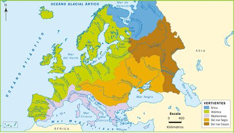 maps de europa rios mapa hidrografico de europa