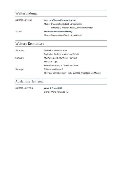 Lebenslauf Muster Für Praktikum Pin Lebenslauf Vorlage Sch 252 Ler Studenten On