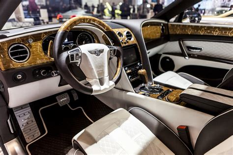 mansory bentley interior geneva 2016 mansory bentley flying spur
