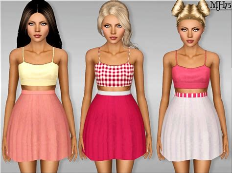 sims 3 teen clothes margeh 75 s s3 conquest dress teen
